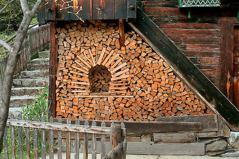 Wood Stack Artistry!